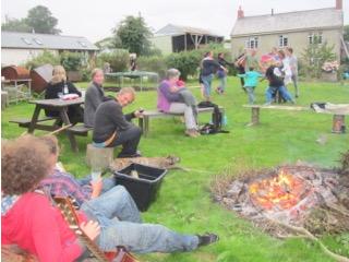 A gathering at Trelay