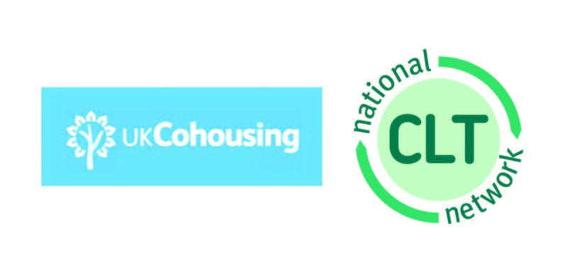 UK Cohousing and National CLT Network logos