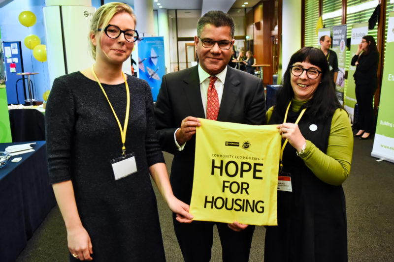 Housing Minister attends first-ever National Community-Led Housing Conference