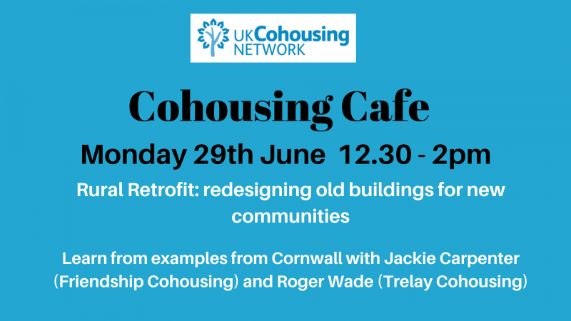 Cohousing Cafe 29TH June